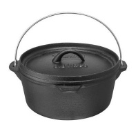 afritrail flat potjie 38 litre camping