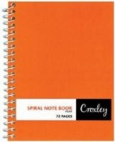 croxley jd374 wire bound note book 72 pages 20 other