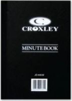 croxley jd445 account book minute 192 pages 5 other