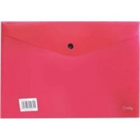 croxley a4 envelope with button 12 pack red school supply