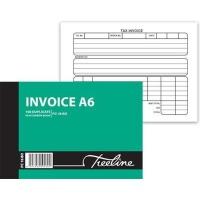 treeline duplicate pen carbon invoice book a6l pack of 10 office machine
