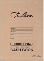 treeline cash bookkeeping soft cover book a4 72 pages of other