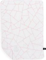 dogs life geometric blanket pink blanket