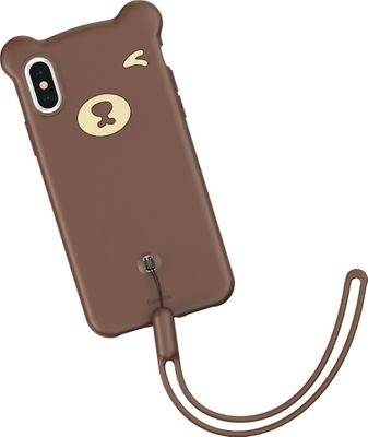 Photo of Baseus Bear Silicone Shell Case for Apple iPhone XS Max