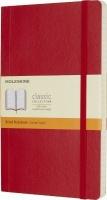 moleskine scarlet large ruled soft paperback other