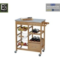 eco kitchen trolley pinewood living room furniture