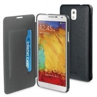 muvit folio case for samsung galaxy note 3 black