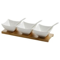 maxwell williams white basics bamboo salsa set 7 piece water coolers filter