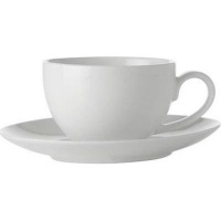 Maxwell Williams Maxwell Williams White Basics Coupe Demi Cup Saucer