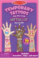melissa and doug temporary metallic tattoos activities amusement