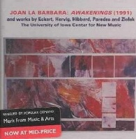 university of iowa center new music 25 anniv music cd