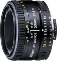 nikon af d portable f18 50mm camera len
