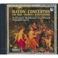 trumpet oboe and piano concertos english concertpinnock music cd