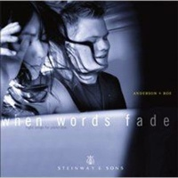when words fade night songs for piano duo music cd
