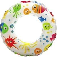intex lively print swim ring 51cm supplied design may vary pools hot tubs sauna