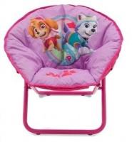 paw patrol saucer chair pink