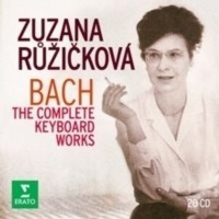 zuzana ruzickov bach the complete keyboard works boxed set music cd