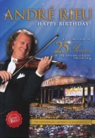 andre rieu happy birthday a celebration of 25 years the music cd