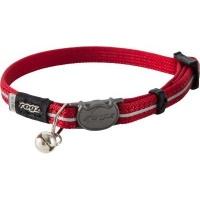 rogz alleycat reflective breakaway safeloc buckle cat collars leash