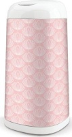 angelcare dress up bin sleeve pink flower bag