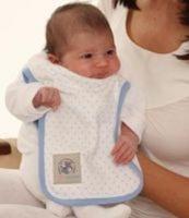 baby sense burp cloth 2 pack feeding
