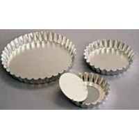 kaiser bakeware quiche fluted loose bottom 15cm silver other kitchen appliance