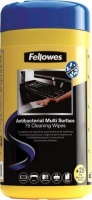 fellowes antibacterial surface cleaning wipes 100 pack school supply