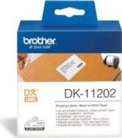 brother dk 11202 dispatch labels roll of 200 62mmx100mm