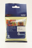 brother m k231b p touch non laminated tape black on white labeling system