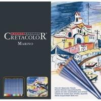 cretacolor marino watercolour pencils set of 12 arts craft