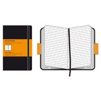 moleskine ruled notebook 13x21cm hard cover 240 pages art supply