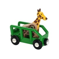 brio giraffe and wagon electronic toy