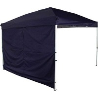 afritrail 2 piece gazebo wall set for 3x3 blue camping