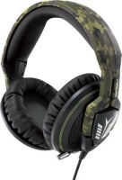 asus echelon forest edition over ear gaming headset green computer