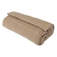 horrockses 100 cotton panelled cellular blanket 180 x 230 bath towel