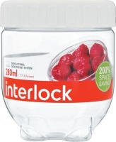 lock and interlock container 280ml white other kitchen appliance
