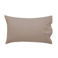 simon baker 100 cotton percale king pillowcase set stone bath towel