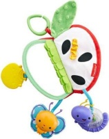 apple fisher price activity book musical toy