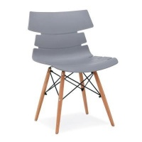 fine living artisan chair with beech wood grey living room furniture