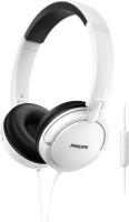 Philips SHL5005WT On Ear Headphones With Mic