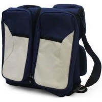 3 in 1 baby bag navy baby toy