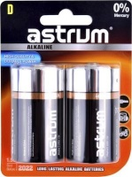 astrum aab020 lr20 long life alkaline d pack of 2 battery
