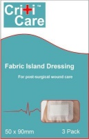 criticare fabric island dressing 5 x 9 health product