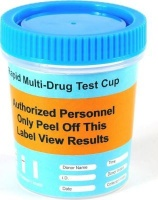 6 panel cup drug test with blue lid health product