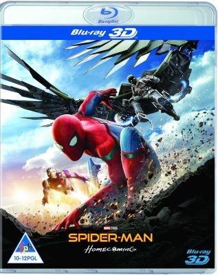 Spider Man Homecoming 2D 3D