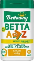 bettaway betta a to z multivitamin mineral and ginseng time health product