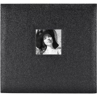 black diamond mcs 12x12 postbound album glitter craft supply