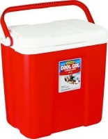 addis coolcat cooler red camping
