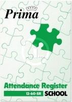 prima school attendance register book a4 50 pupils other