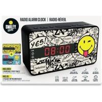 big ben digital clock radio with 3 interchangeable plates media player accessory